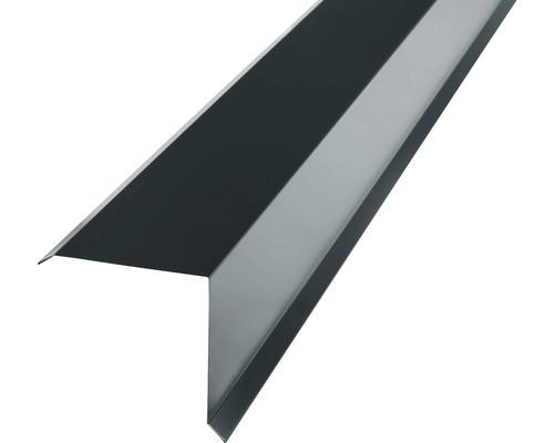 PRECIT Kantenwinkel für Metallziegel anthracite grey RAL 7016 2 m