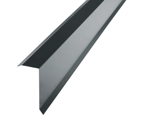 PRECIT Kantenwinkel für Trapezbleche H12 anthracite grey RAL 7016 2 m