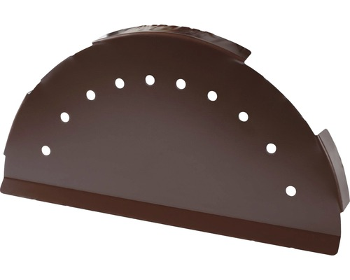 PRECIT Abschlusskappe für Firstblech chocolate brown RAL 8017