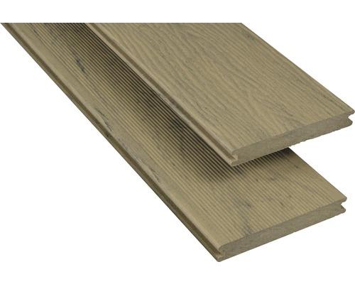 WPC Terrassendiele Konsta Samtesche 20x145 mm (Meterware ab 1000 mm bis max. 6000 mm)