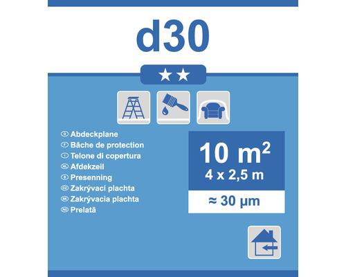 Abdeckplane D30 transparent 2,5 x 4m