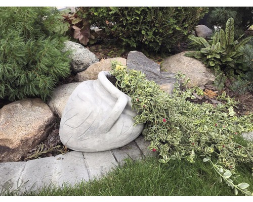 Gartensteinfigur Pflanztopf Krug