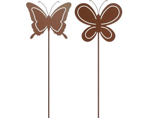 Dekostab Schmetterling H 85 cm Metall