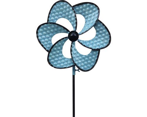 Metall Windmühle blau