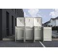 Mülltonnenbox HIDE Kunststoff 182x63,4x115,2 cm grau