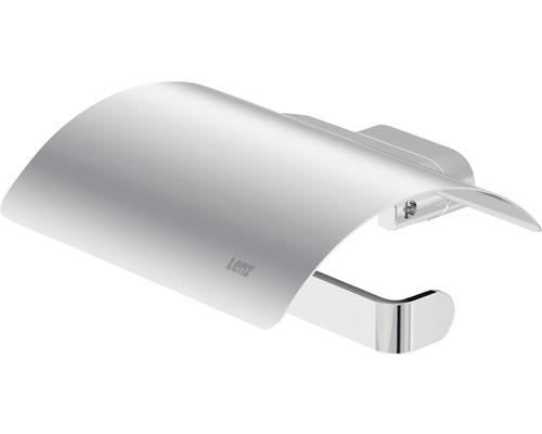 Toilettenpapierhalter Lenz Aura chrom mit Deckel