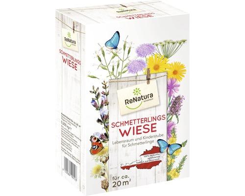Wildblumenwiese aus Österreich ReNatura Schmetterlingswiese 20 m²