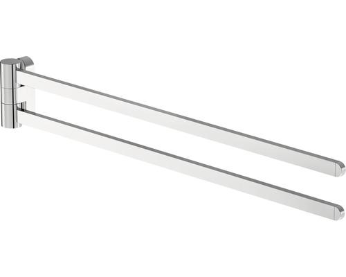 Handtuchhalter Lenz Aura 43 cm 2-arm schwenkbar chrom