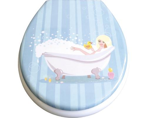 WC-Sitz ADOB Cortina Bath mit Absenkautomatik
