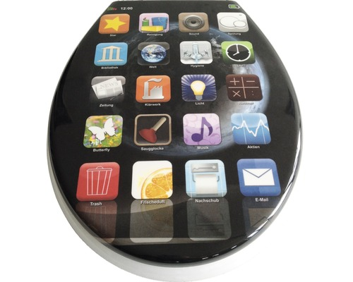 WC-Sitz ADOB Cortina App mit Absenkautomatik