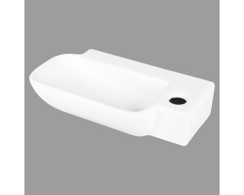 Handwaschbecken Reba 36x19 cm weiß