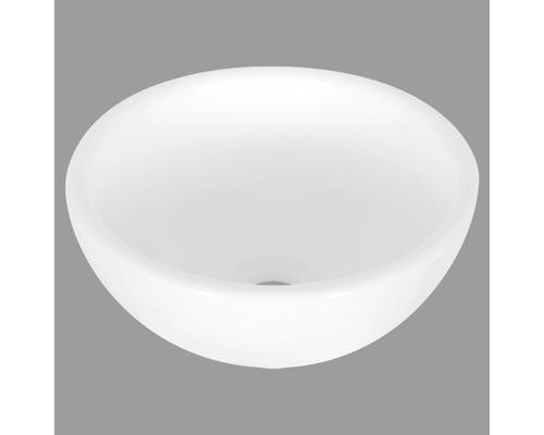 Aufsatzwaschbecken Ruz rund Ø 25 cm weiß