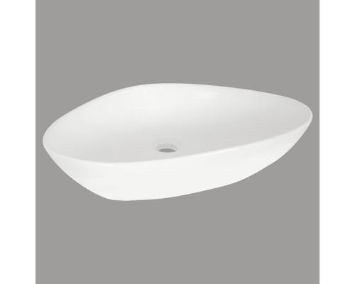 Aufsatzwaschbecken Rigi 59x39 cm weiß
