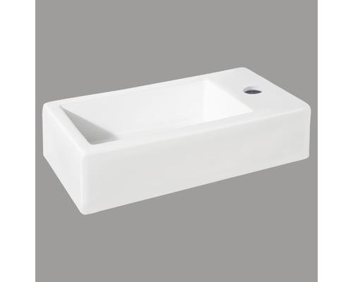 Handwaschbecken Hura 38,5x18,5 cm weiß