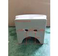 Handwaschbecken-Set Hestia 28x35 cm weiß inkl. Waschtischarmatur und Siphon chrom