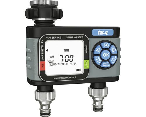 Bewässerungscomputer for_q FQ-BC 2 für automatische Bewässerung mit mobilen Regnern, Tropfsystemen (MicroDrip) oder Sprinklersystemen.