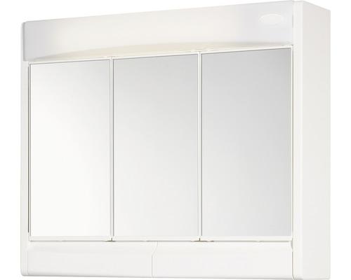 Spiegelschrank Jokey Saphir 60x51x18 cm 3-türig weiß