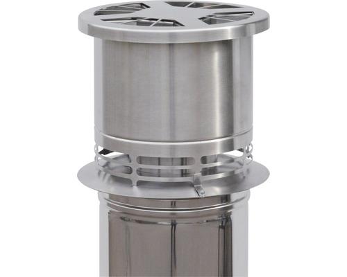 Schornstein-Abzug Optimierer Aduro Draft Optimizer edelstahl für Ø146-200 mm
