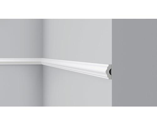 Wandleiste CL1 weiß 4x1,5x200 cm