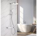 Duschsystem Avital Ondava chrom mit Thermostat Smart Control