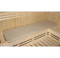 Sauna-Bankauflage Karibu für Saunabänke 45x181x3 cm beige klappbar