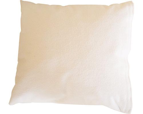 Saunakissen Karibu 40x35 cm weiß