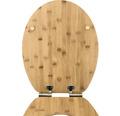 WC-Sitz Form & Style Bambus mit Absenkautomatik