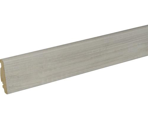 Sockelleiste FU60L Esche D3007 19x58x2400 mm