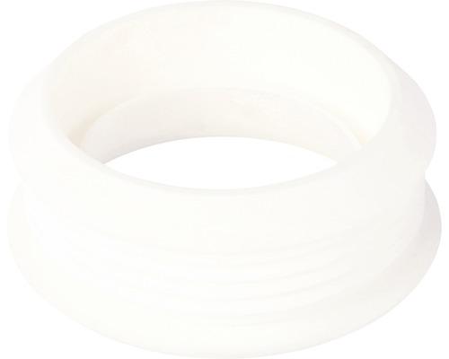 Euroverbinder f. WC 66x44mm Rohr weiß