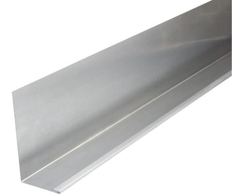 PRECIT Aluminium Winkelblech mit Wasserfalz 2000 x 155 x 80 mm