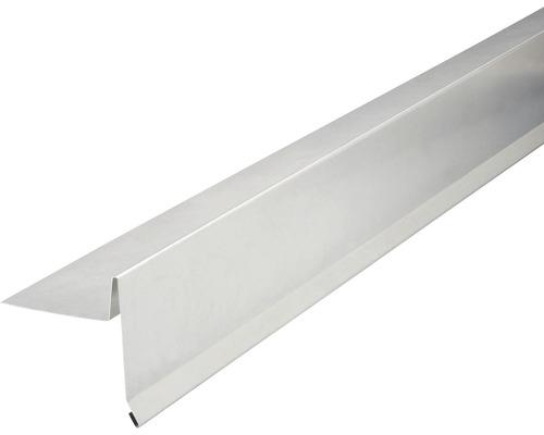 PRECIT Aluminium Ortgangblech ohne Wasserfalz 2000 x 95 x 105 mm