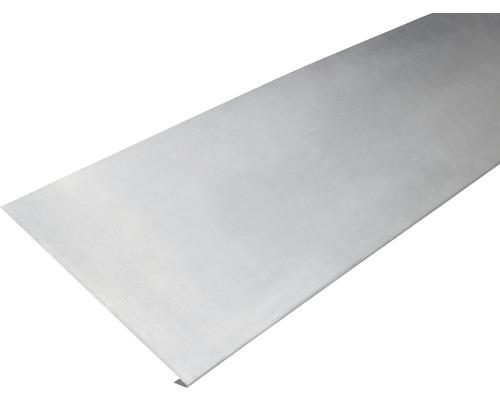 PRECIT Aluminium Traufstreifen ohne Wasserfalz 2000 x 235 mm
