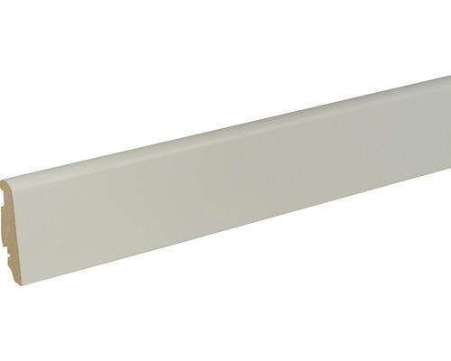 Sockelleiste FU60L Platin weiß 19x58x2400 mm