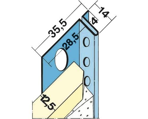 Schattenfugenprofil 4mm 3m