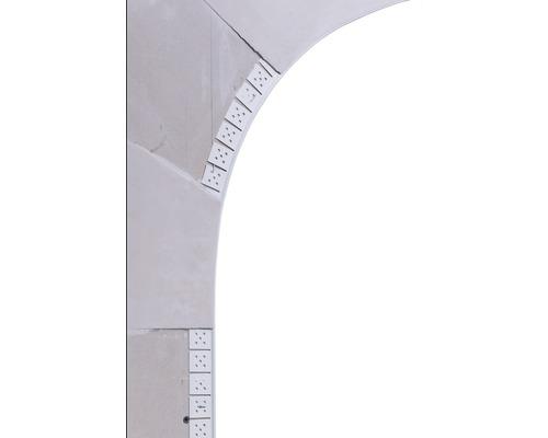 Winkelprofil aus PVC 3m lang
