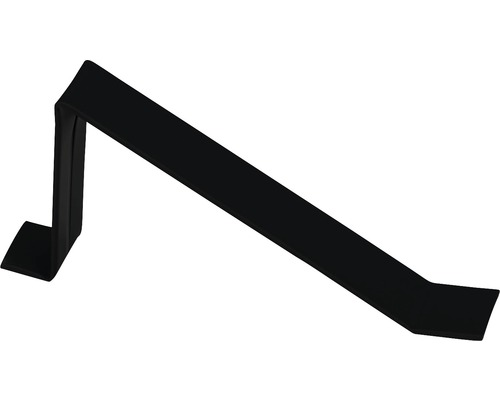 Precit Schneefanghaken black RAL9005