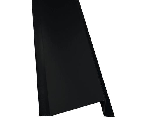 Precit Schneewerfer black RAL9005 1 m