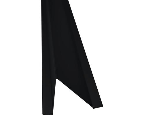 Precit Schneestopper black RAL9005 1 m