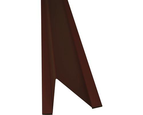 Precit Schneestopper chocolate brown RAL8017 1 m