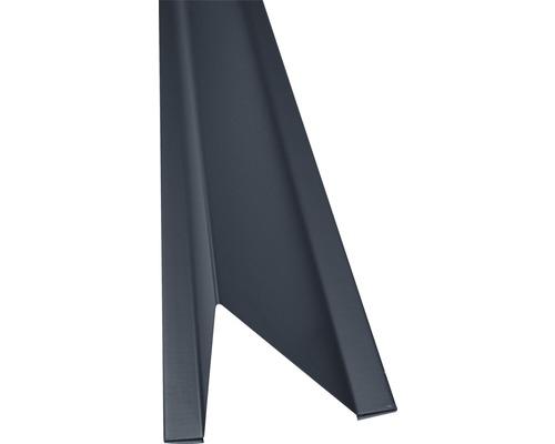 PRECIT Schneestopper anthracite grey RAL 7016 1000 x 70 x 88 mm