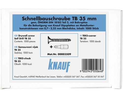 Schnellbauschrauben Knauf TB 3,5x35 mm