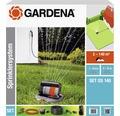 Gardena Sprinklersystem Set mit Versenkregner OS 140