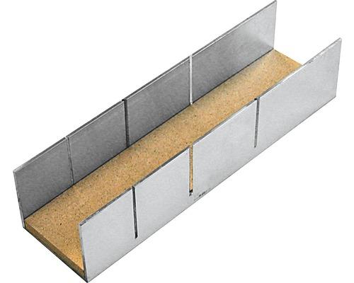 Schneidlade aus Aluminium 60x50x245 mm