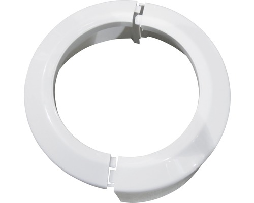 PVC Klapprosette für WC weiß