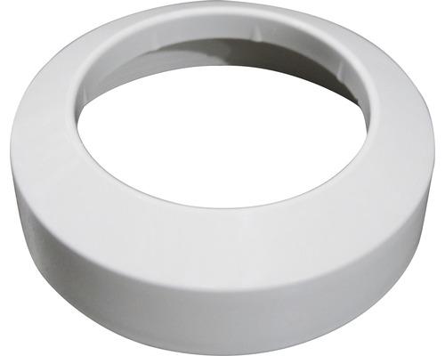 PVC-Flachrosette 110mm weiß
