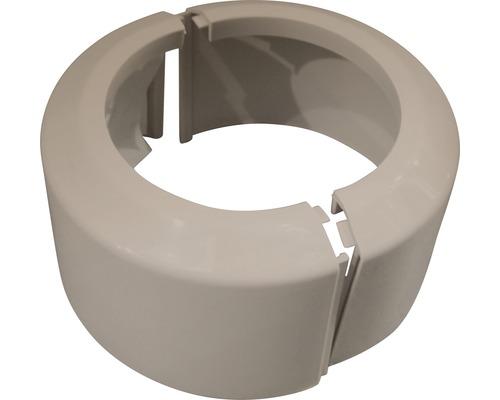 PVC-Klapprosette Viega für WC 110mm beige