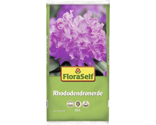 Rhododendronerde FloraSelf, 35 L