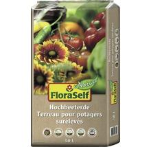 Hochbeeterde FloraSelf Nature, 50 L