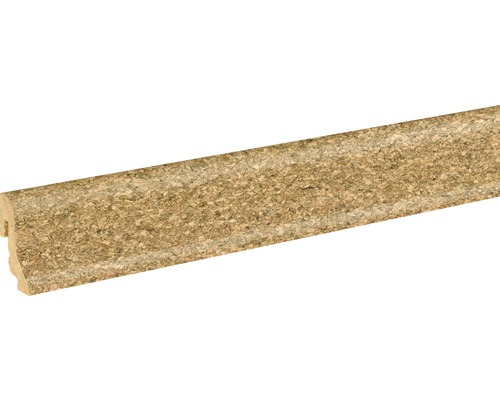 Korkleiste SU18L fein lackiert 18,5x38,5x2400 mm
