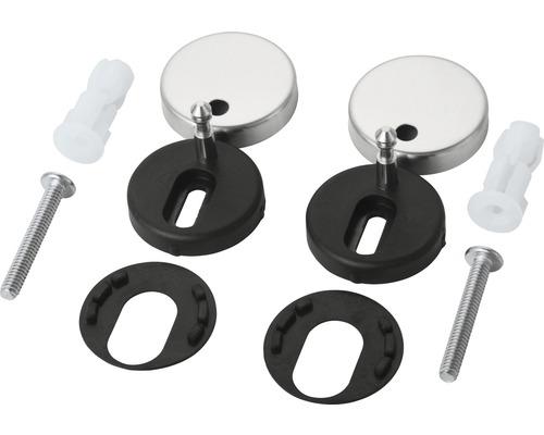 Ersatzscharnier für WC-Sitze mit Quick-Rel
